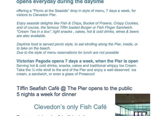Everything you need to know about Tiffin @ the Pier but were afraid to ask!