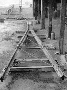 Pier Leg during restoration