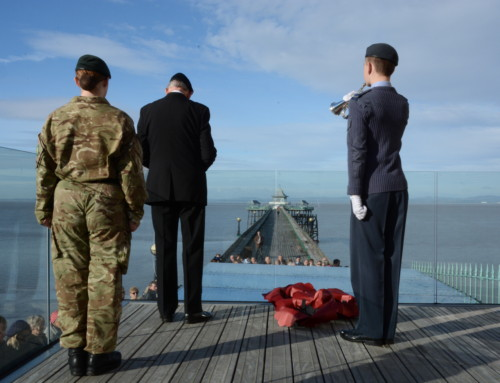 Remembrance Sunday @ Clevedon Pier Heritage & Trust