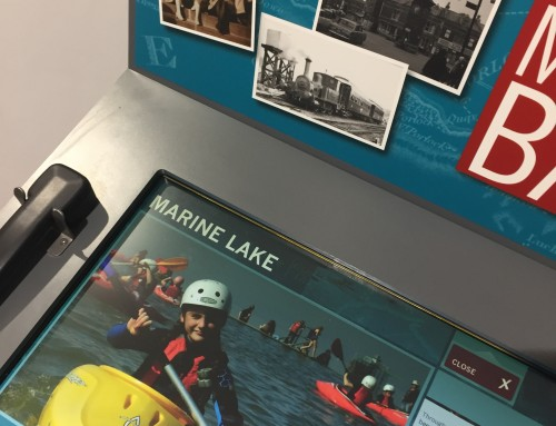 Marine Lake images now available on the Memory Bank at Clevedon Pier
