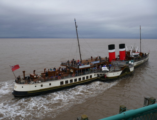Anita Sims – The Pier, Paddle Steamers and Heritage Buildings
