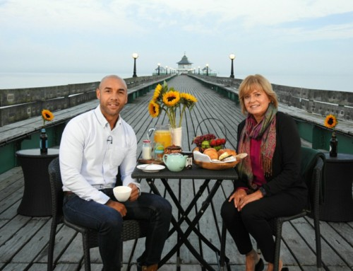 Good Morning Britain Live on the Pier