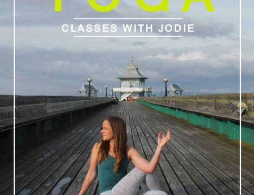 Yoga comes to Clevedon Pier