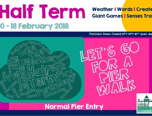 Half Term Activity – Let's go for a Pier Walk