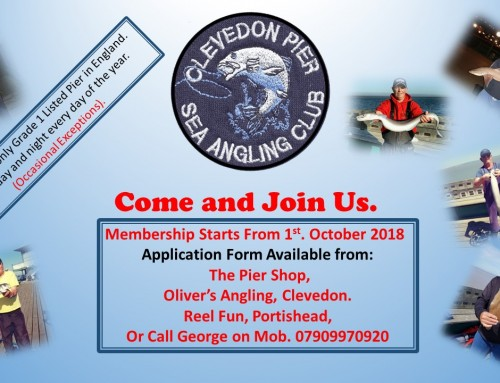 Fishing Club looking for new members…