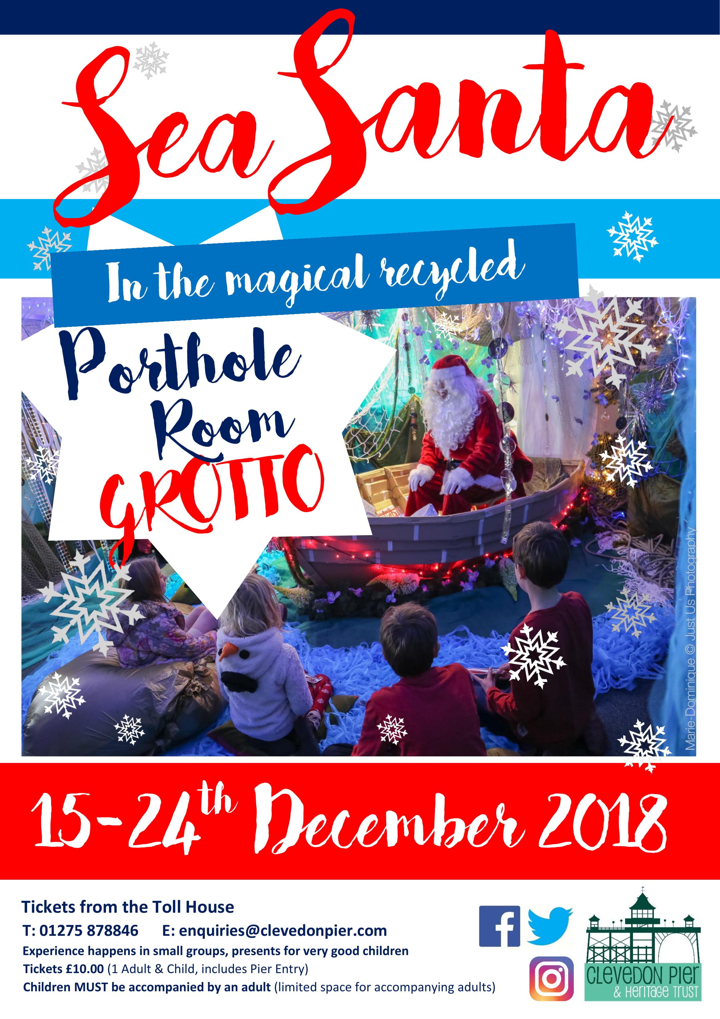 Sea Santa Poster