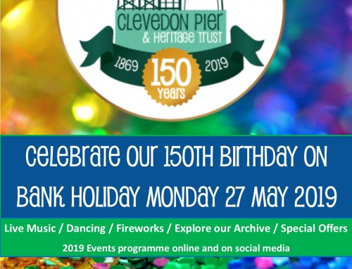 First 3 Acts confirmed for Clevedon Pier's 150 Birthday Party!