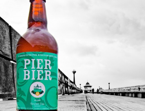 Pier Bier – a special brew by Twisted Oak for the our 150th birthday