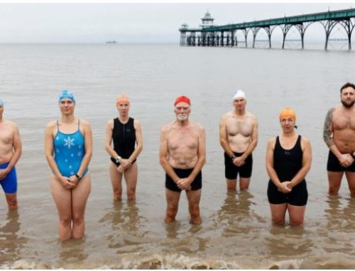 Clevedon Swimmers celebrate Pier 150