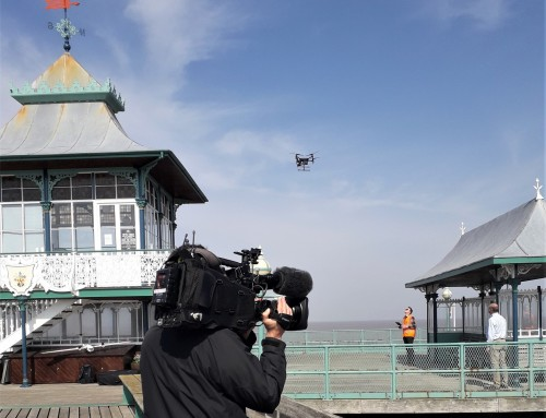 Preview of the Clevedon Pier Drone Survey