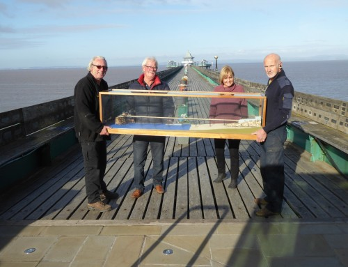 Scale model that helped save Clevedon Pier on public view for 50th anniversary of collapse