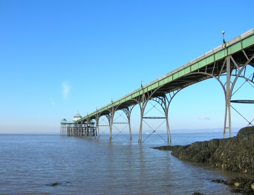 Clevedon Pier wins Pier of the Year 2021