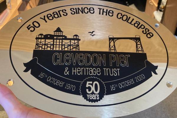 50th Anniverary Plaque